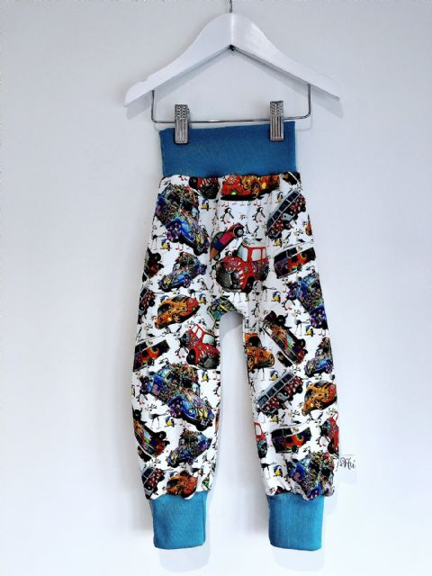 Huxley Pants Cars - In Stock 2-3